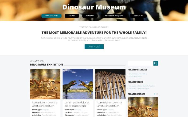 Museum Drupal Template
