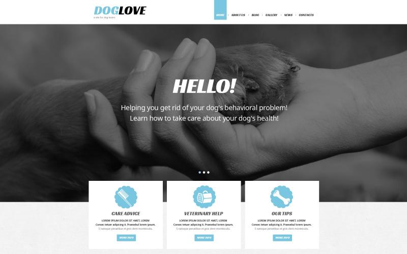 Pet Care Joomla Template