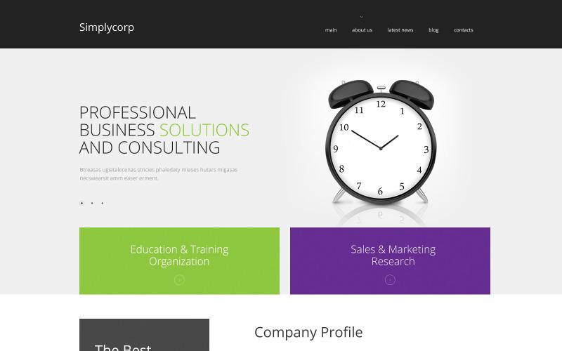 Simplycorp WordPress-tema