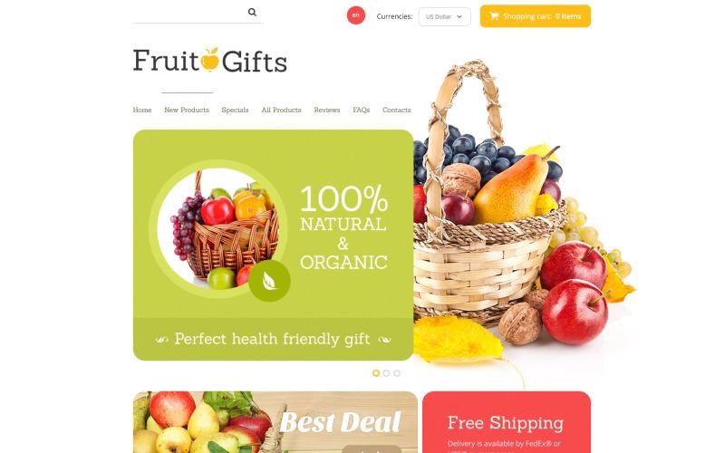 Fruit Gifts ZenCart Template