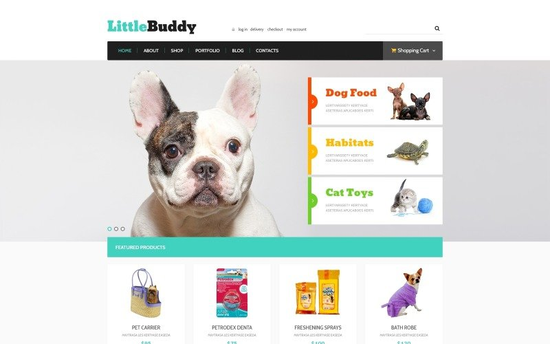 Little Buddy WooCommerce Teması