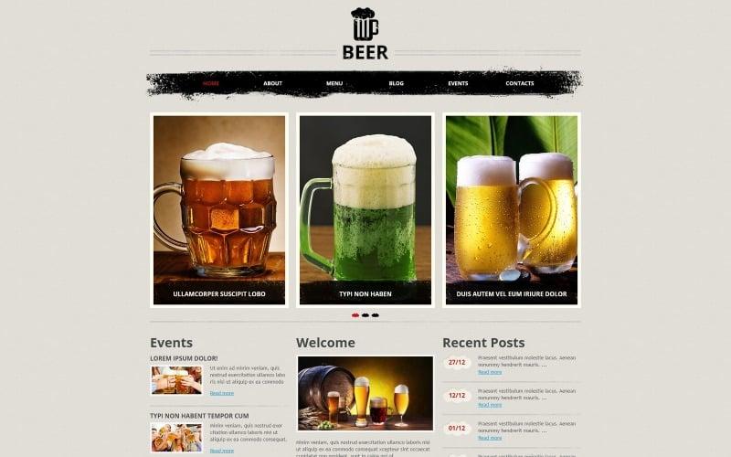 Magnificent Beer Pub Joomla Template
