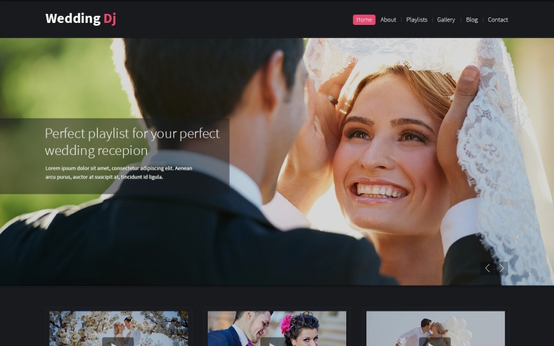Шаблон Drupal для свадебного планировщика