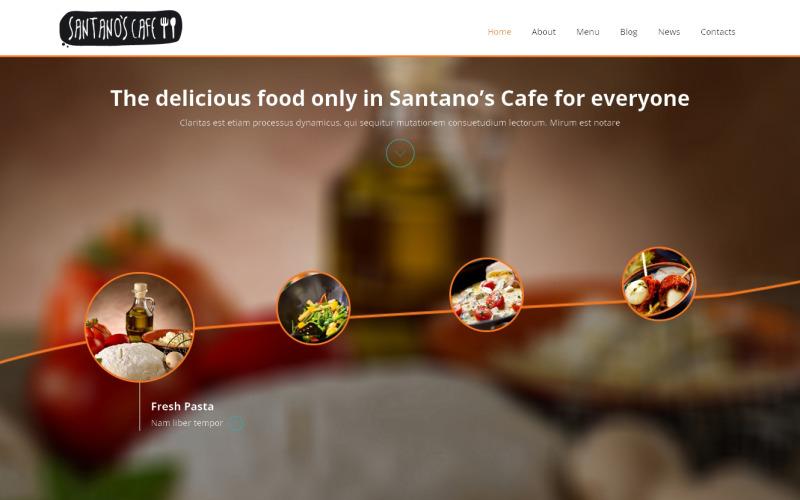 Cafe Responsive Joomla Template