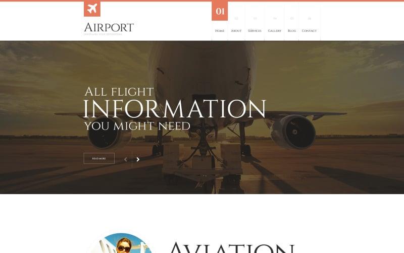 Private Airline Responsive WordPress Theme