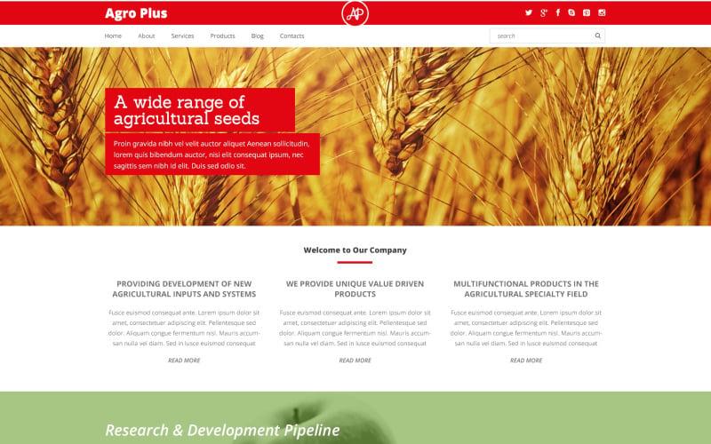 Farm Responsive WordPress Theme