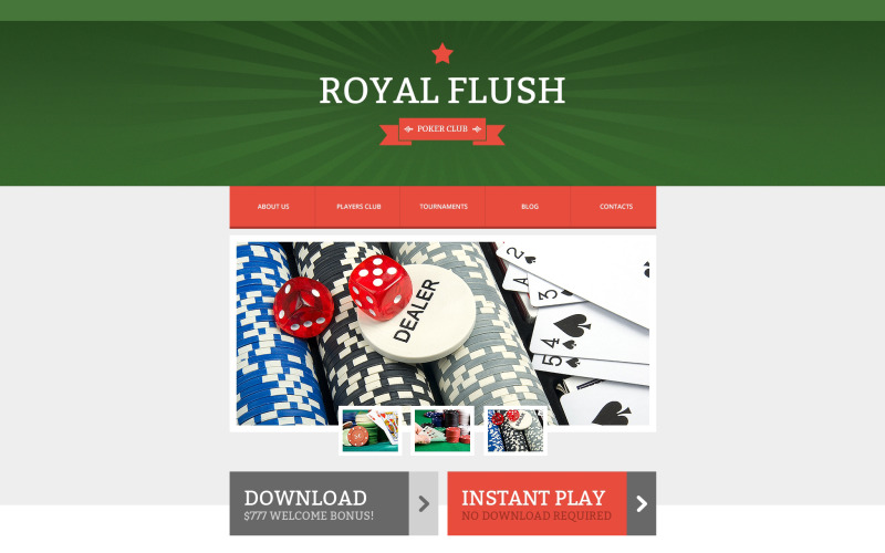 Online poker responsiv webbplatsmall