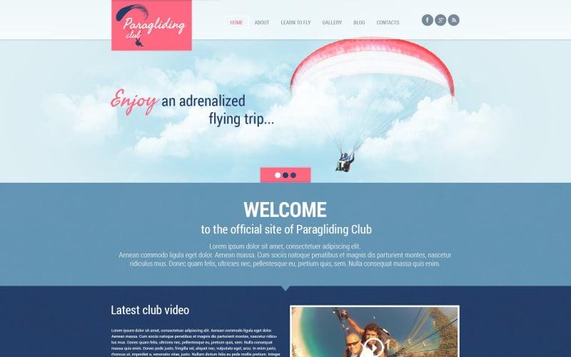 Paragliding Responsive WordPress Theme