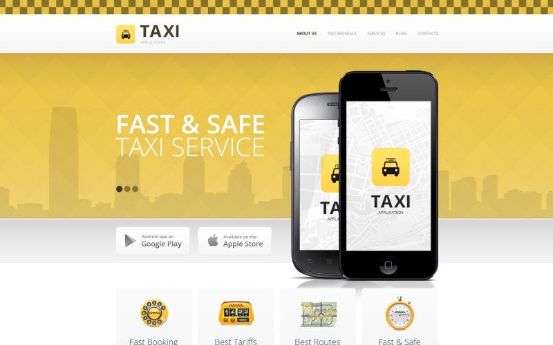 Шаблон такси Drupal