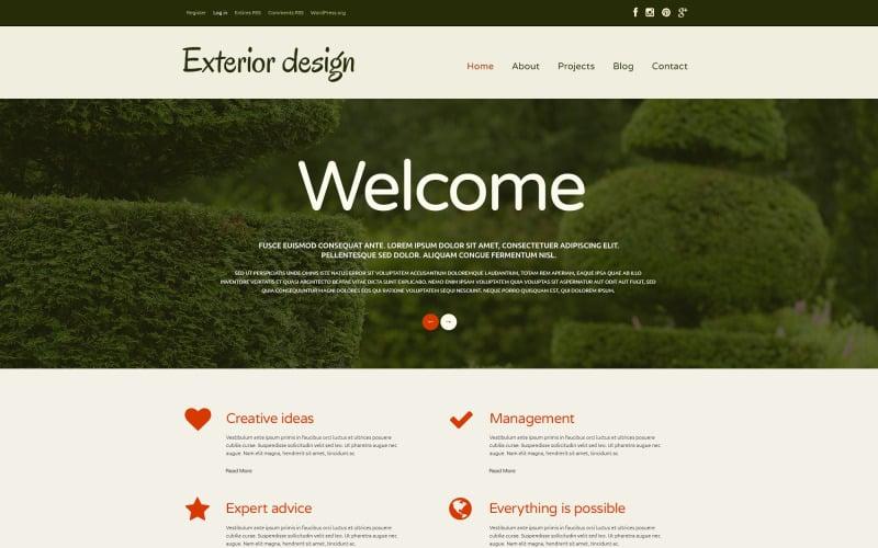 Garden Design Responsive WordPress Theme