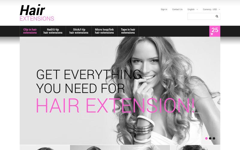 Long Hair PrestaShop Theme