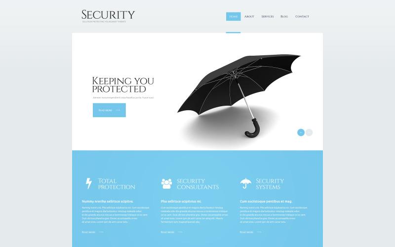 Адаптивная тема WordPress для безопасности