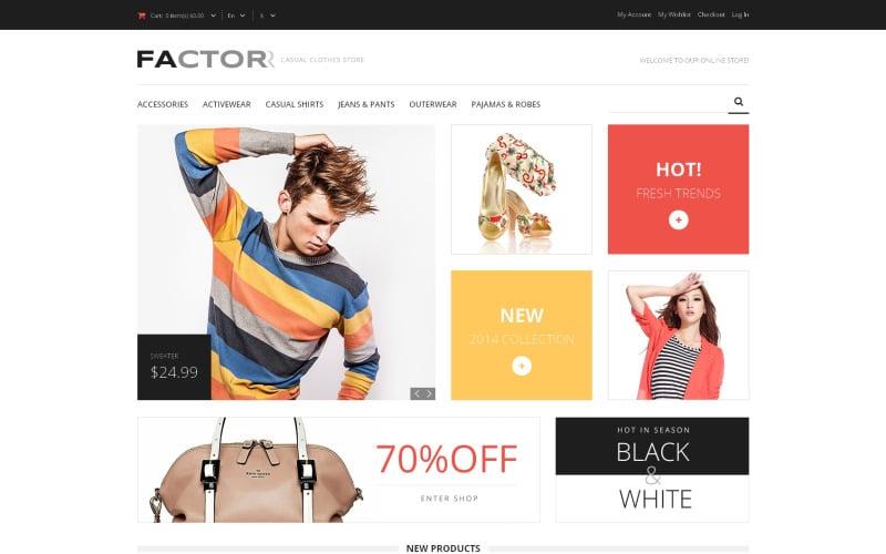 Style Factor Magento Theme