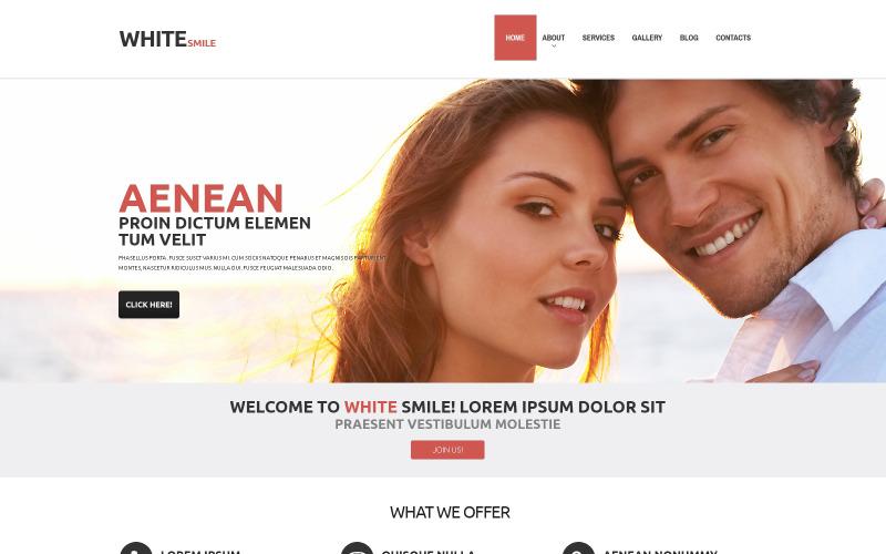 Thème WordPress pour la dentisterie