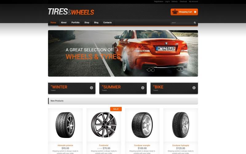 Wheels & Tyres Responsive WooCommerce Theme