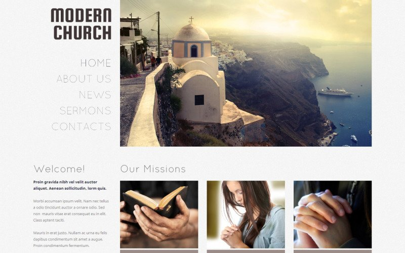 Christian Responsive WordPress Theme