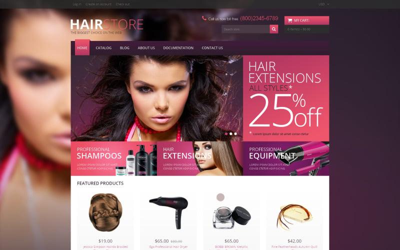 Hair Salon Responsive Shopify Theme