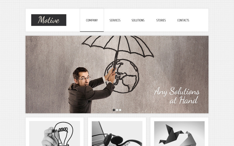 Accounting Website Drupal Template