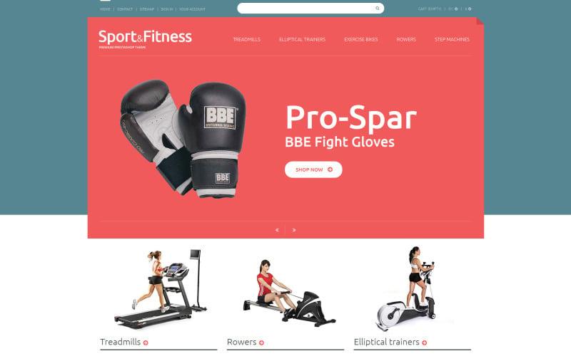 Free Sport Shop PrestaShop Theme