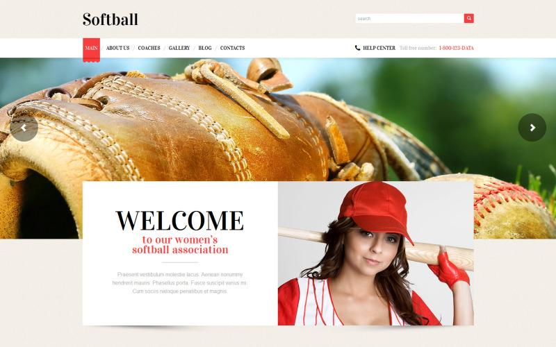 Адаптивная тема WordPress для бейсбола