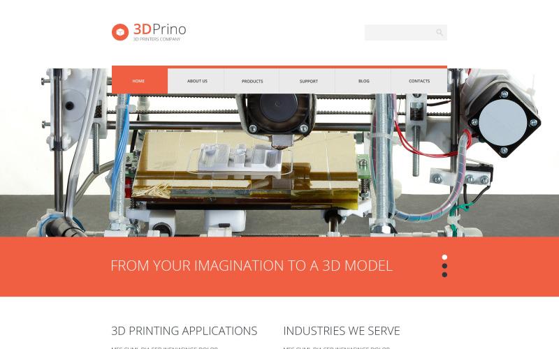 Reagovat na WordPress motiv Print Shop