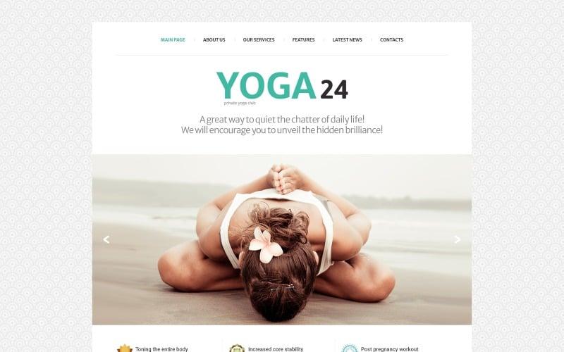 Yoga Studio Joomla Template