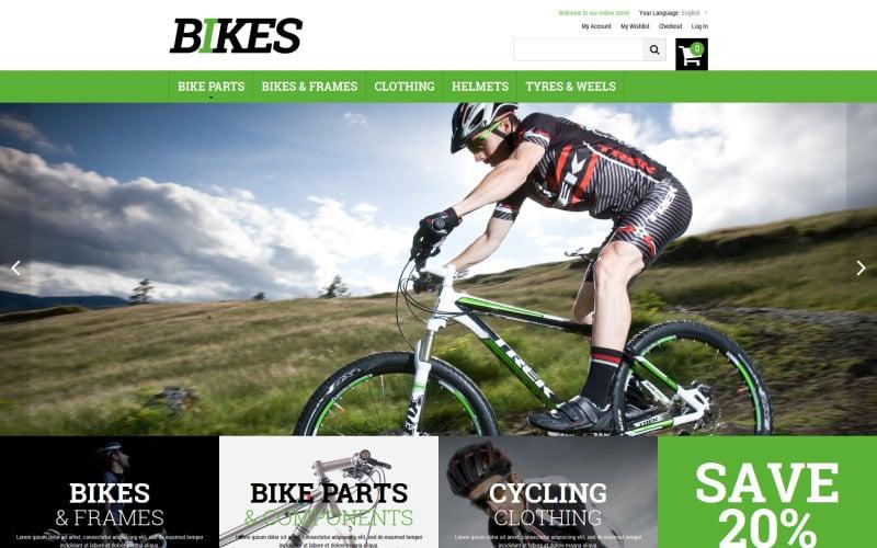 Bikes Magento Theme