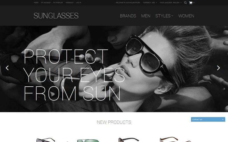 Sunglasses Shop Magento Theme