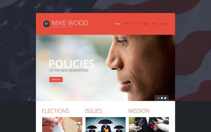 Tema WordPress del consiglio di politica