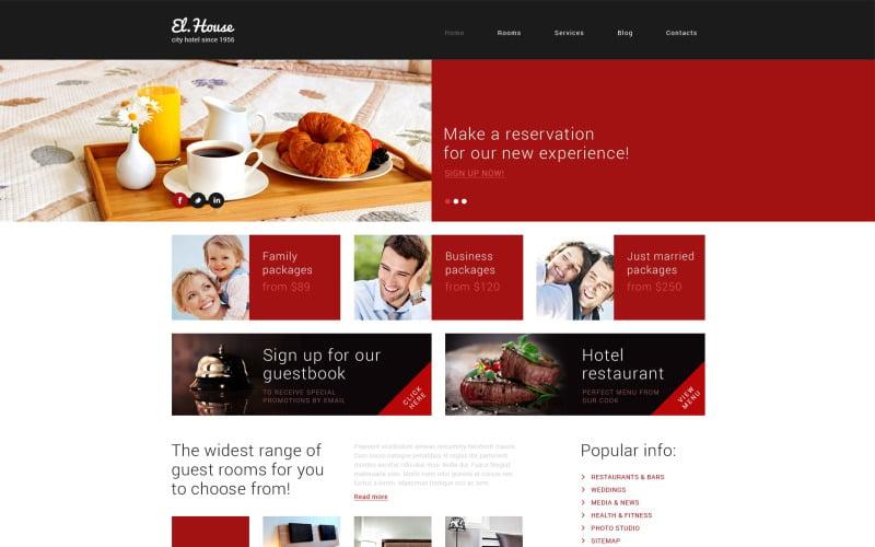 Téma Dream Escape Inn WordPress