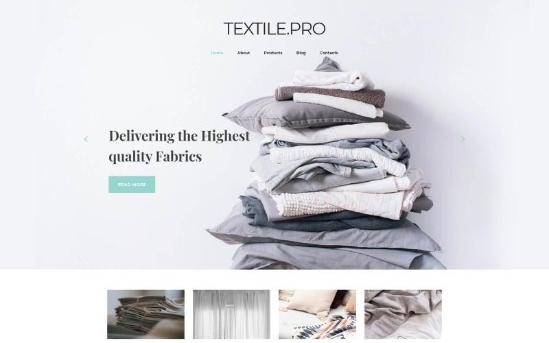 Textile Industry Joomla Template