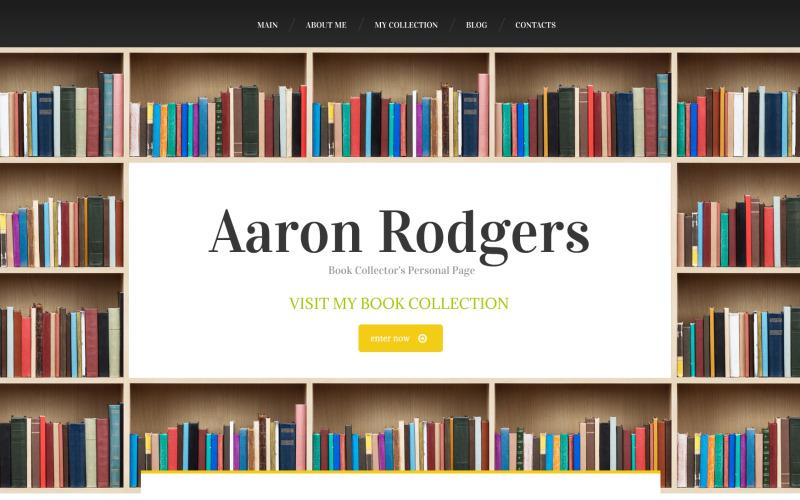 Book Reviews Drupal Template