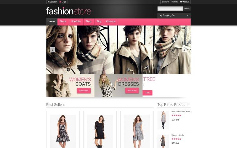 Kleidung online bekommen WooCommerce Theme
