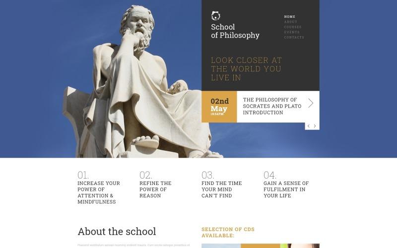 Love of Wisdom School Joomla Template