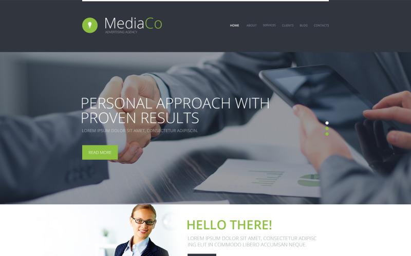WordPress тема рекламного агентства