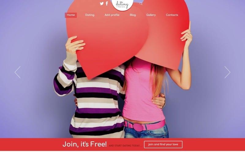 Адаптивный шаблон Joomla для знакомств