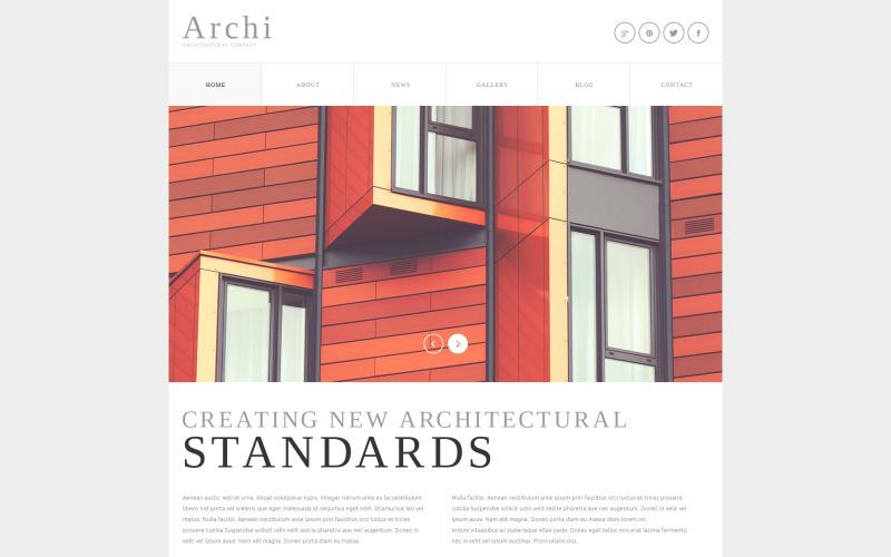Architectural Company Joomla Template