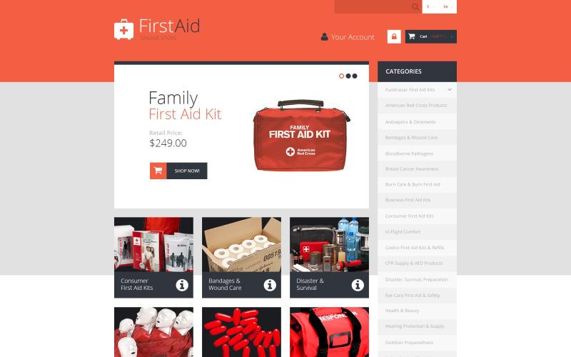 First Aid Store PrestaShop Theme