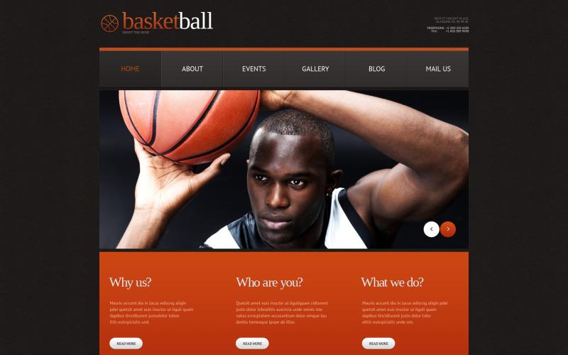 Kosárlabda érzékeny WordPress téma