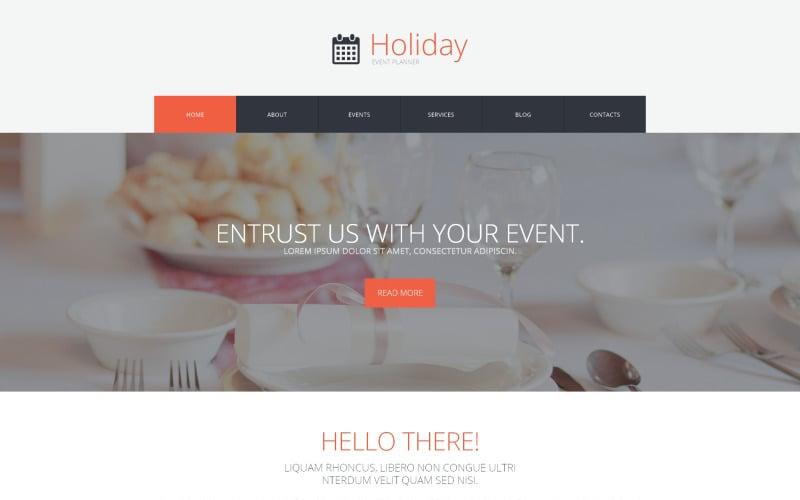 Event Planner WordPress Theme
