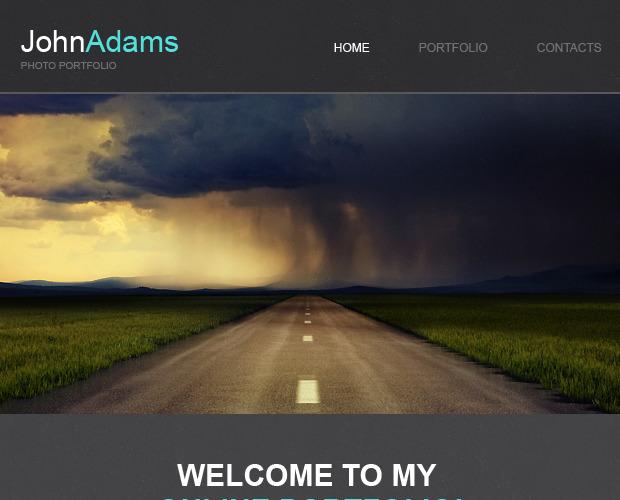 Modello Newsletter - Responsive Portfolio del fotografo