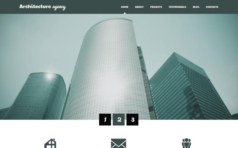 Архитектура Бизнес WordPress Тема