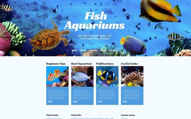Fish Responsive WordPress Theme