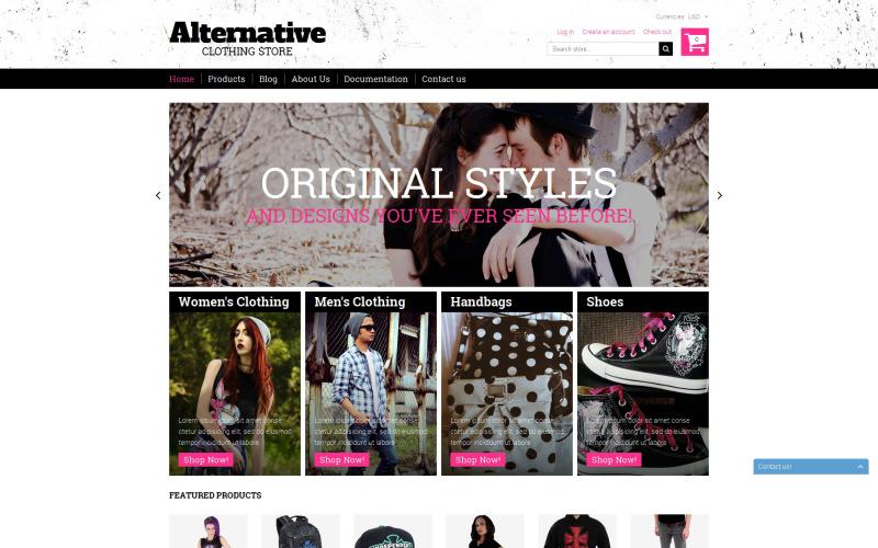 Alternative Outfit Shopify Theme