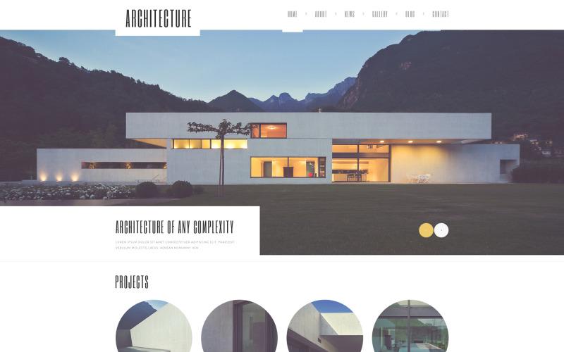 Тема WordPress для гуру архитектуры
