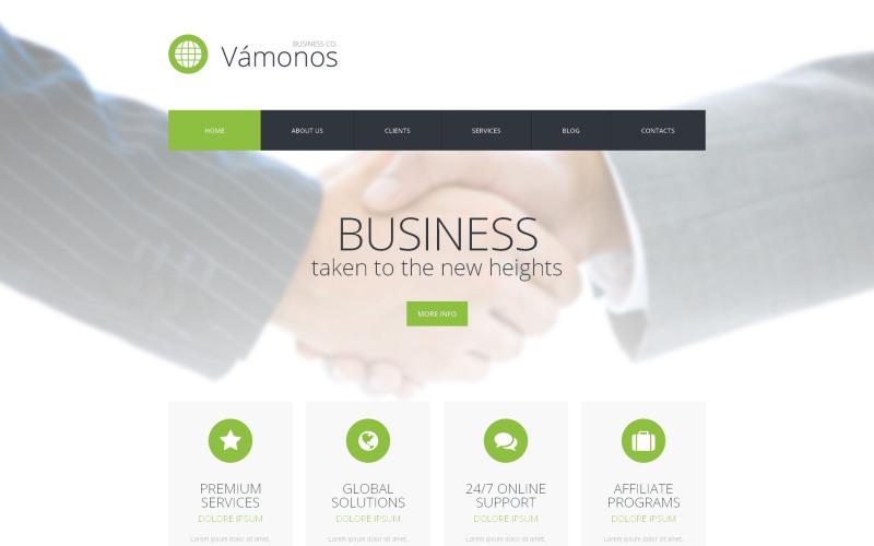 Тема WordPress Ведение бизнеса