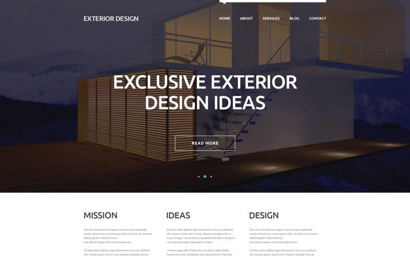 External Design Trends WordPress Theme