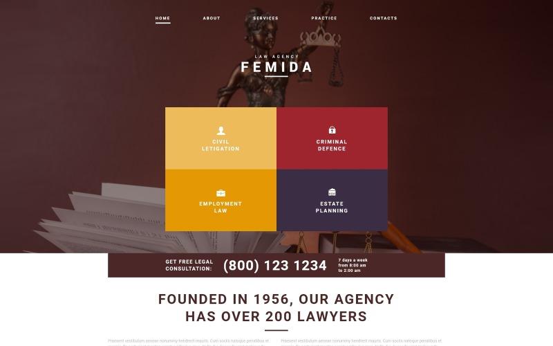 Law Adviser Joomla Template