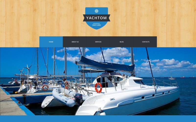 Pleasant Yachting Experience WordPress Theme