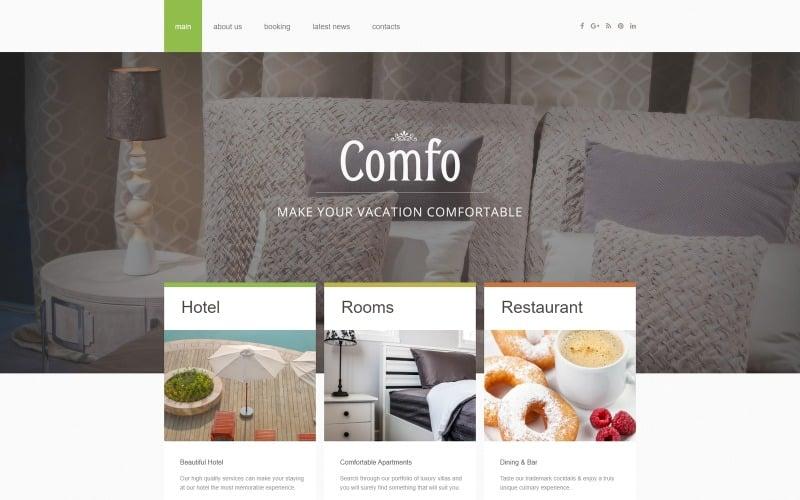Cozy Vacation Joomla Template